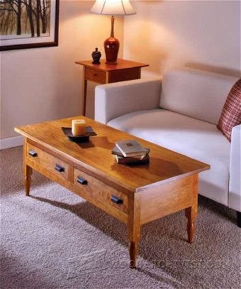 Display Coffee Table Plans Woodarchivist Shaker Coffee Table Plans