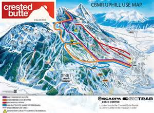 trail maps crested butte mountain resort