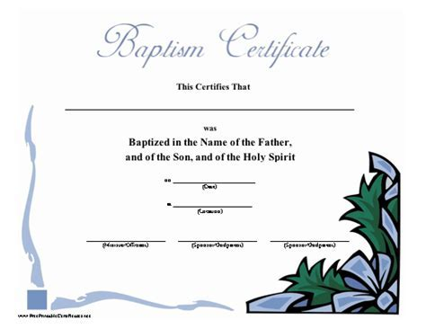 Free baptism certificate template baptism certificates free baby dedication certificate template memes pronofoot35fo Image collections