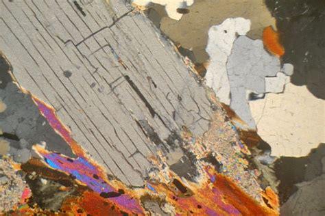 mica thin section kyanite mica schist drumnadrochit scotland thin section