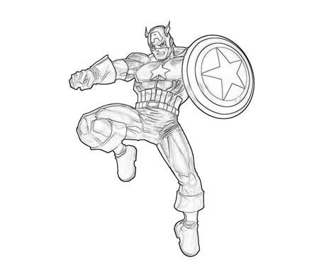 marvel coloring pages captain america marvel coloring page coloring home
