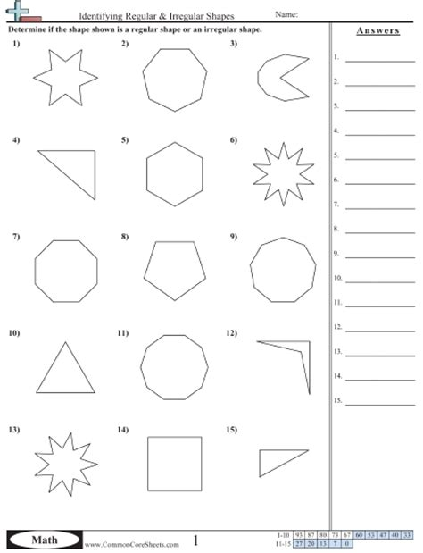 regex pattern match numbers shapes worksheets