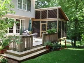 Outdoor inspiring outdoor deck design with nice cozy