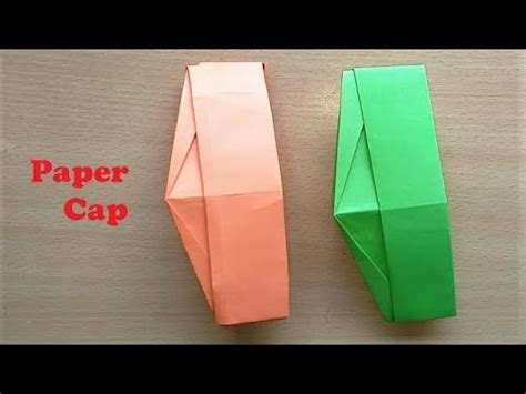 How To Make Nehru Cap Using Paper - paper cap paper hat ghandi topi how to make paper