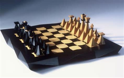 designer chess sets cubist chess pays tribute to czech designer pavel jan 225 k