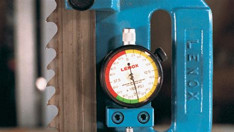 setting bandsaw blade tension finewoodworking