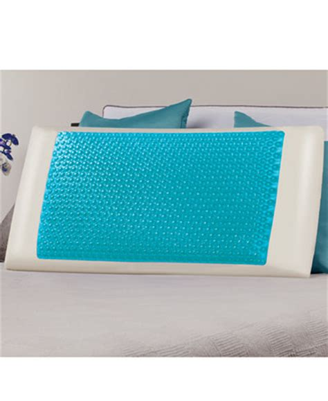 comfort revolution hydraluxe gel memory foam pillow comfort revolution cool comfort hydraluxe king pillow gel