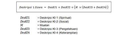 format artikel deskriptif penilaian pada kurikulum 2013 sd