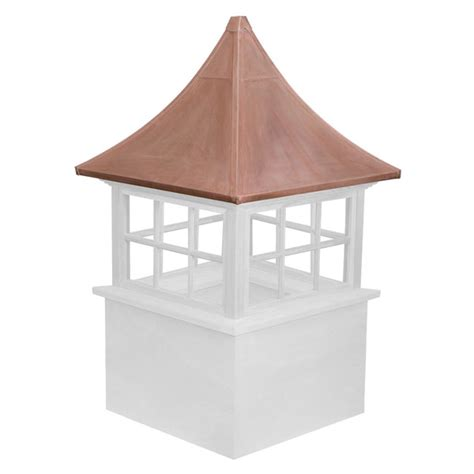 Stephenson Cupola stephenson cupolas cwgovwwcovi vinyl stephenson governor 6 lite glass window cupola with copper roof