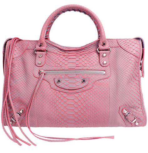 Original One Effect Crocodile Bib charitybuzz classic croc effect pink balenciaga handbag lot 1355306