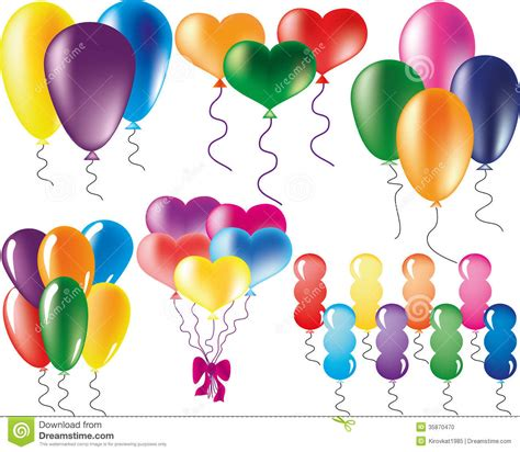 Shape Balloon different bright shapes of balloons images frompo