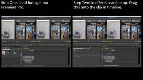 adobe premiere pro how to crop video how to crop a video in adobe premiere pro cs6