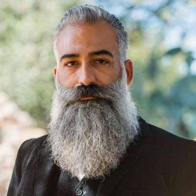 actor with big white beard alberto alberto masala bearded wonders pinterest