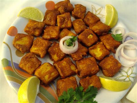 Cottage Cheese Pakora Recipe by Paneer Pakora Cottage Cheese Fritters Tasty Appetite