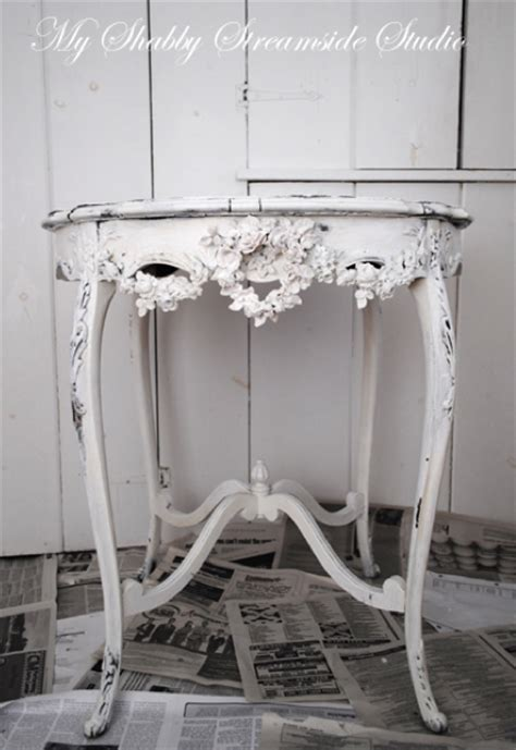 36 fascinating diy shabby chic home decor ideas daily beautiful little antique table done in shabby chic look