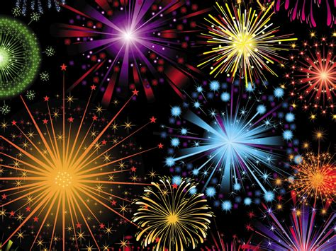 Free Fireworks Celebration Backgrounds For Powerpoint Animated Ppt Templates Fireworks Animation For Powerpoint
