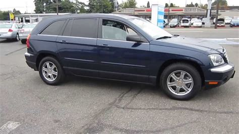 Blue Chrysler Pacifica by 2004 Chrysler Pacifica Navy Blue Stock 11260