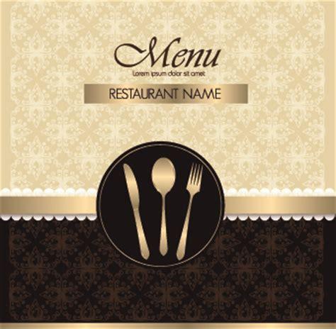 design cover menu restaurant restaurant menu cover design set free vector in