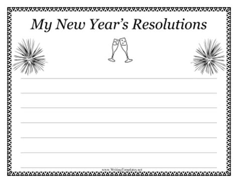printable new year s writing paper new year writing template writing template