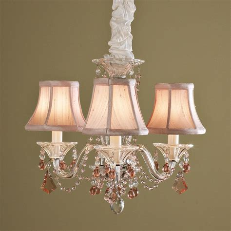 Pink Chandelier L Shades Pin By Gloria In 233 S S 225 Nchez On Chandeliers
