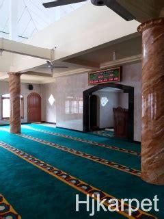 Karpet Masjid Di Depok karpet masjid jami al hidayah depok pusat karpet masjid