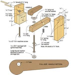 Create Woodworking Plans Online woodworking vise the one and make your own on pinterest