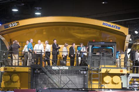 international truck show las vegas nevada mining in the spotlight at minexpo convention las