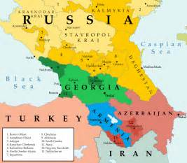 map of caucasus map of the caucasus january 2014 the abovyan