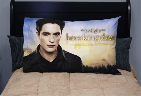 Twilight Pillow by Twilight Breaking Part 2 Pillow Edward