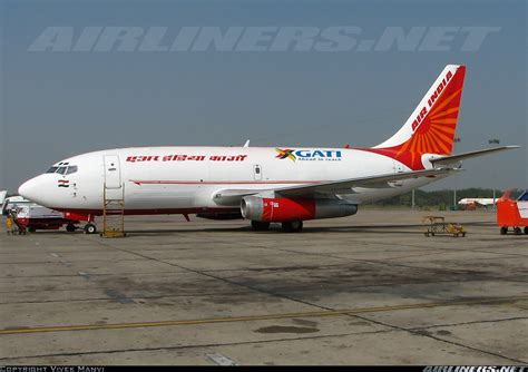 boeing 737 2a8 adv f air india cargo gati aviation photo 1294475 airliners net