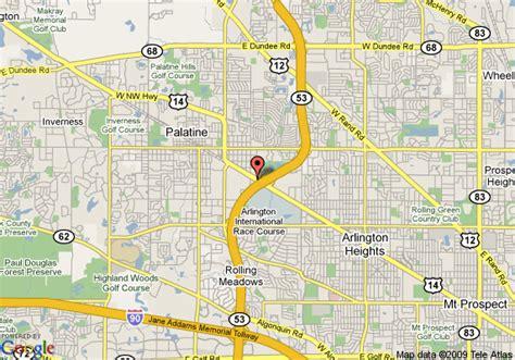map of palatine illinois map of hotel indigo chicago schaumburg palatine