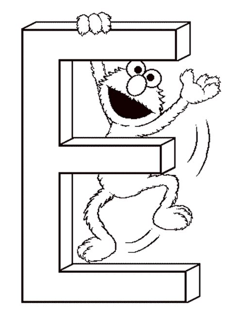 sesame street elmo coloring pages free coloring pages kids
