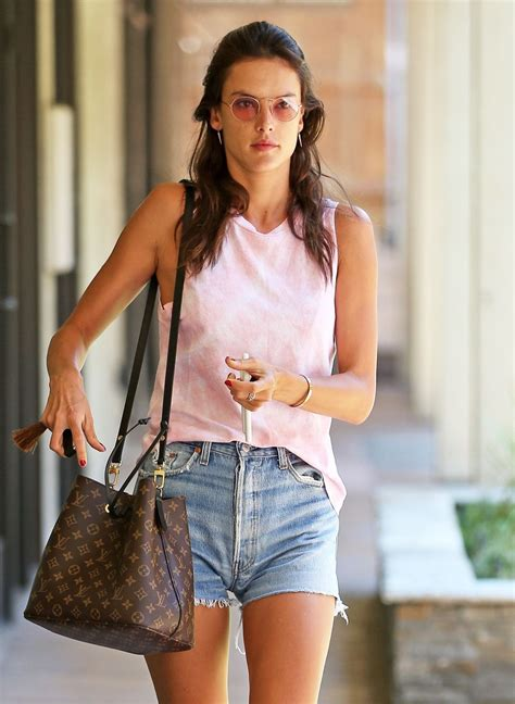 Alessandra Ambrosio by Alessandra Ambrosio Spa Day In La 08 05 2017