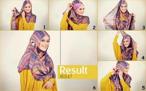 hijab tutorial pashmina wide shawl sifon simple cara memakai jilbab tren mejor conjunto de frases
