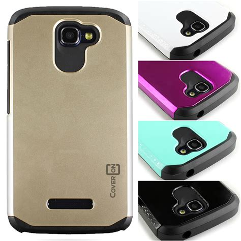 Hardcase Alcatel One Touch Flash High Quality Hardcase Free Sp for alcatel one touch fierce 2 pop icon tough hybrid layer cover ebay
