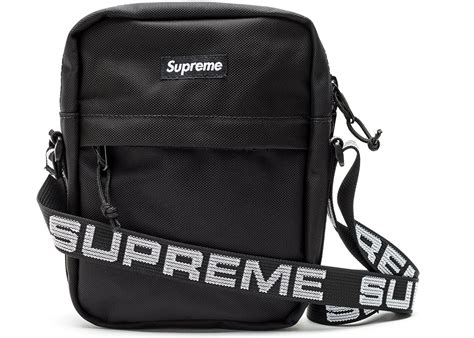 Black Shoulder Bag supreme shoulder bag ss18 black