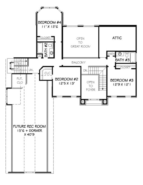 traditional 4 beds 3 baths 1856 sq ft plan 44 162 main traditional style house plan 4 beds 3 50 baths 3232 sq