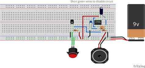 build   alarm system   lm amplifier