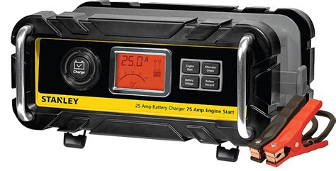 stanley airpressor and battery charger stanley 25 high frequency bench battery charger