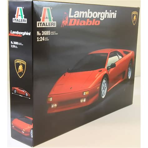 Lamborghini Model Kits Italeri 1 24 3685 Lamborghini Diablo Model Car Kit