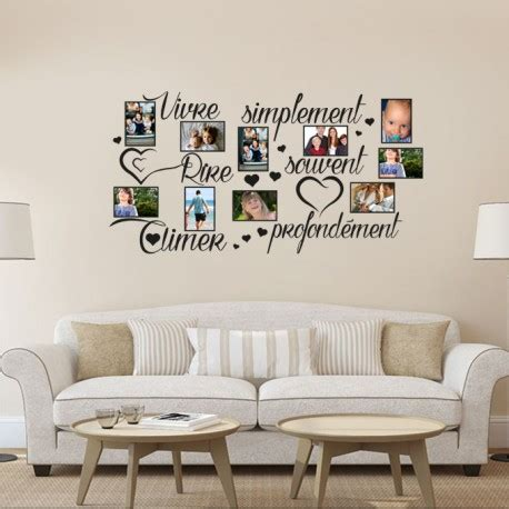 Photo Deco Stickers stickers d 233 co mural cadre photos cadre photos amour