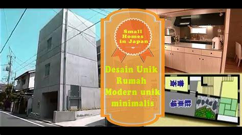 unique small homes design  japan  rumah jaman  desain modern unik youtube