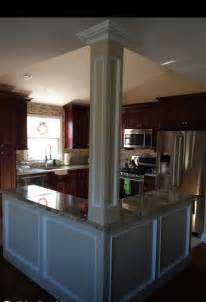 floor to ceiling l open floor plan kitchen knock walls l shaped island