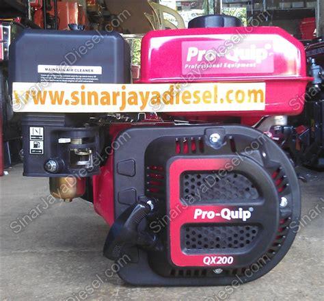Mesin Proquip mesin bensin proquip qx200 6 5 hp sinar jaya diesel