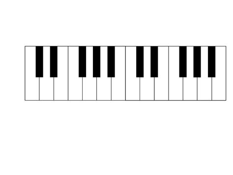 coloring page piano keys piano keyboard clipart clipart panda free clipart images