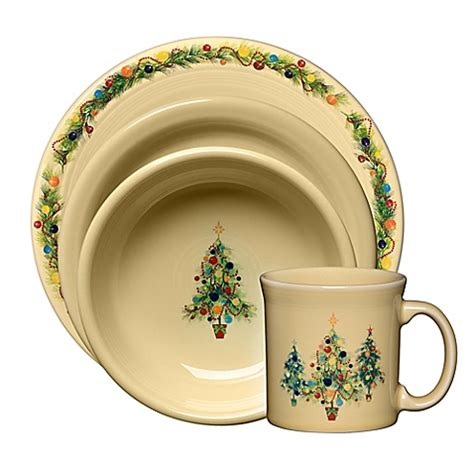 fiesta 174 christmas tree dinnerware collection www