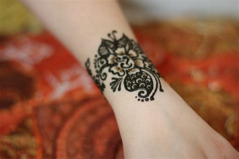 henna colored tattoo henna color makedes