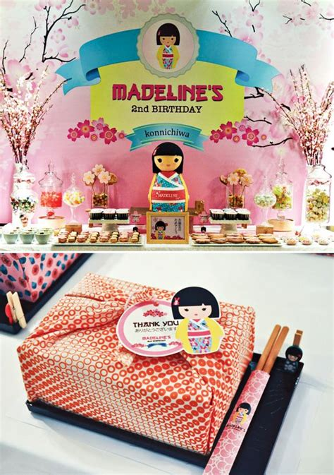 hostess with the mostess 174 cheerful japanese kimmidoll themed party