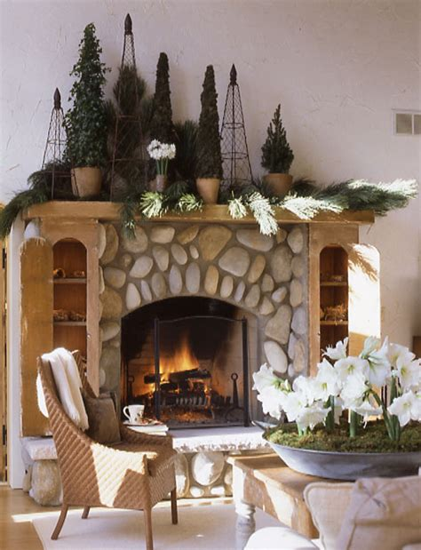 evergreen home decor friday fun best of the web 8 great holiday mantels