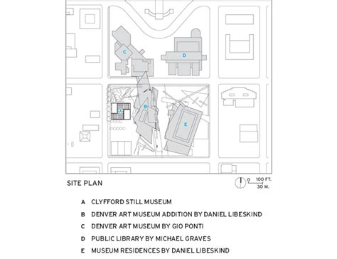 denver art museum floor plan clyfford still museum 2012 01 16 architectural record